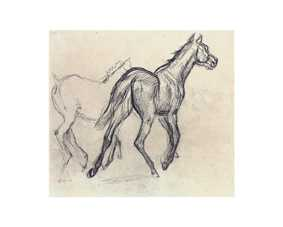 ドガ  * Horses