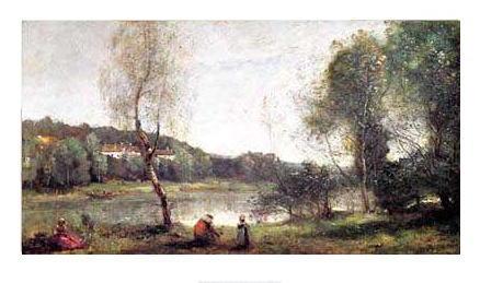 コロー *ヴィル=ダヴレーの池