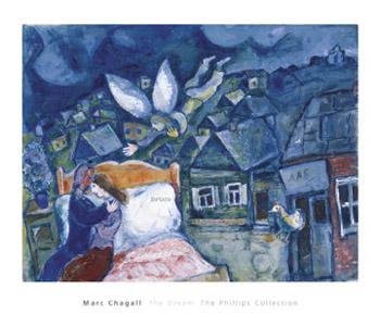 シャガール   *The Dream/ 1939