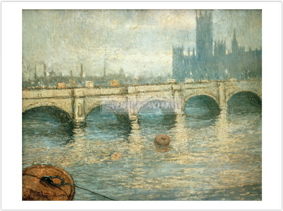 クロード・モネ Bridge over the Thames 1903