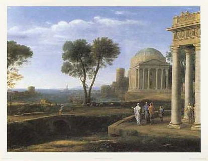 クロード・ロラン *Aeneas At Delos