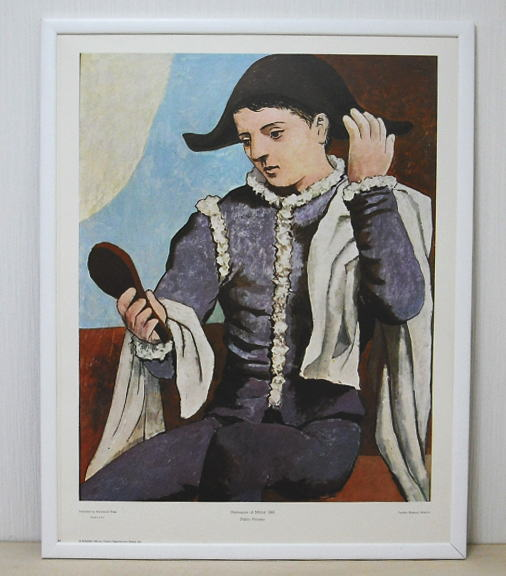 ピカソ *Harlequin at Mirror 1923