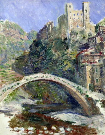 クロード・モネ The Castle of Dolceacqua, 1884